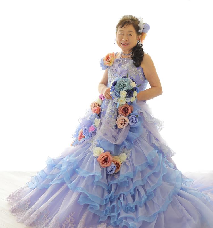 平日撮影でドレスに無料お着替え